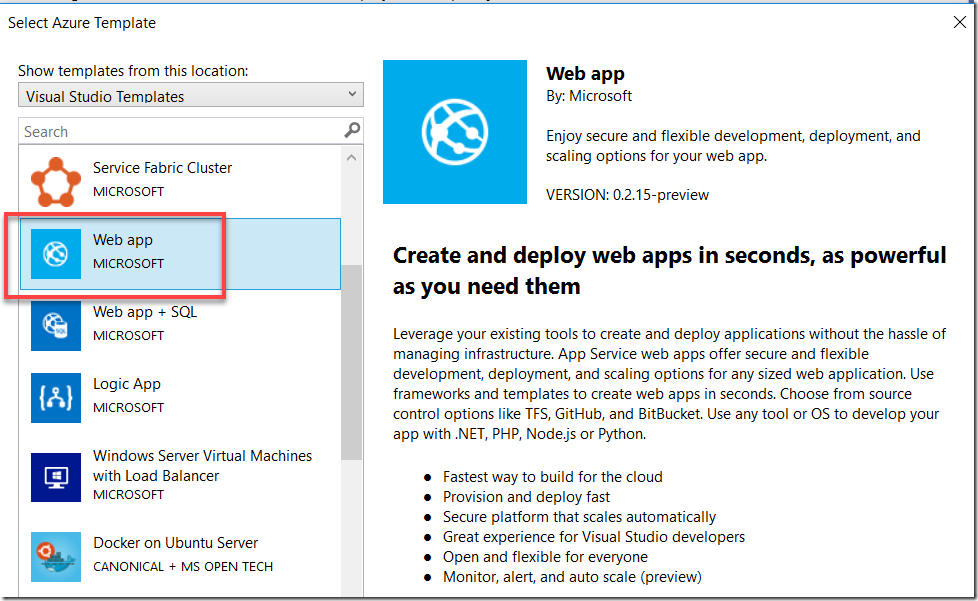 Deploy Azure Web App for Containers with ARM and Azure DevOps - blog